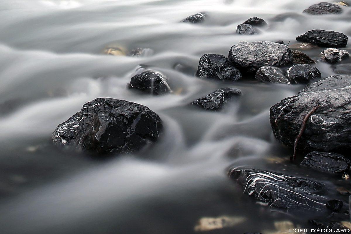 Filé d'eau, torrent du Giffre, Sixt-Fer-à-Cheval