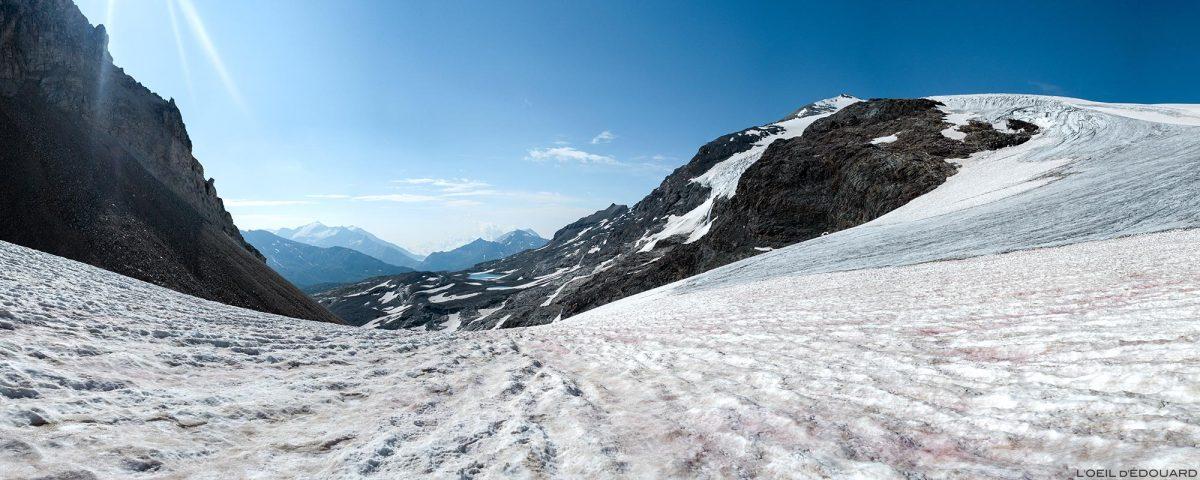 Alpinisme : le Col du Pelve sur les Glaciers de la Vanoise