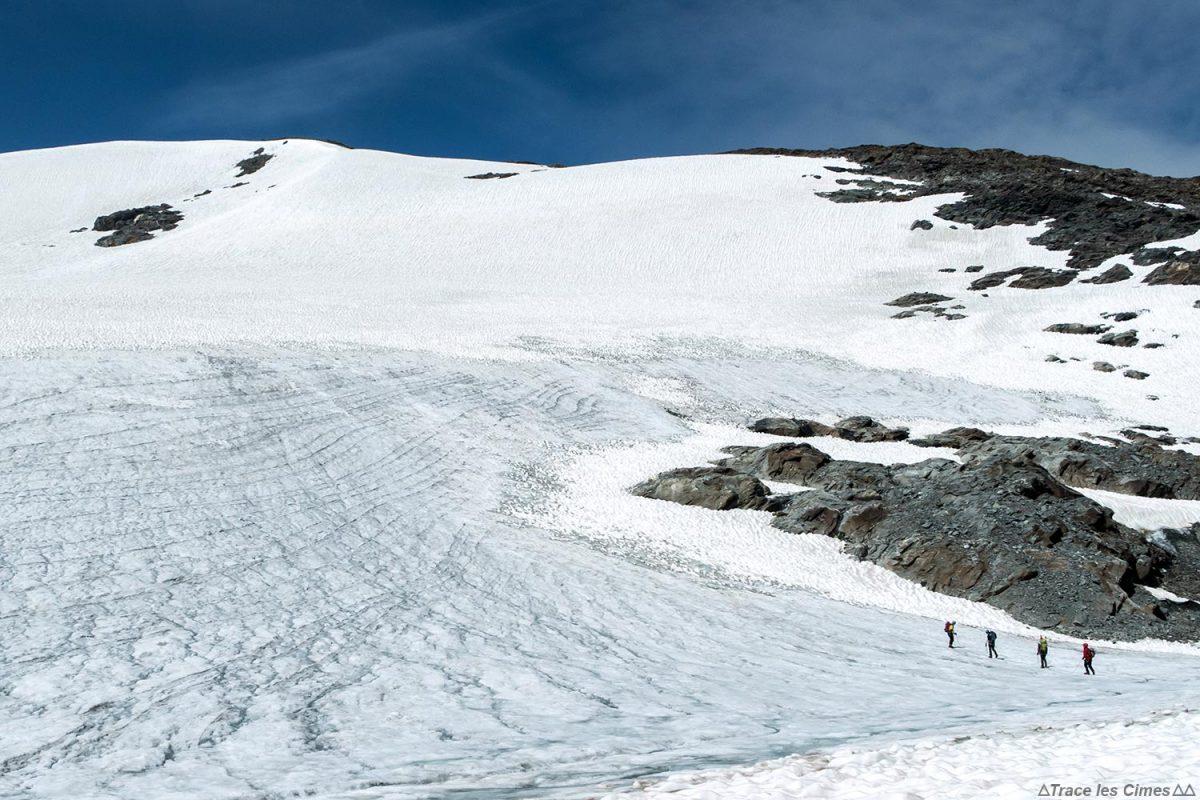 Alpinisme sur les Glaciers de la Vanoise : le Dôme des Sonnailles