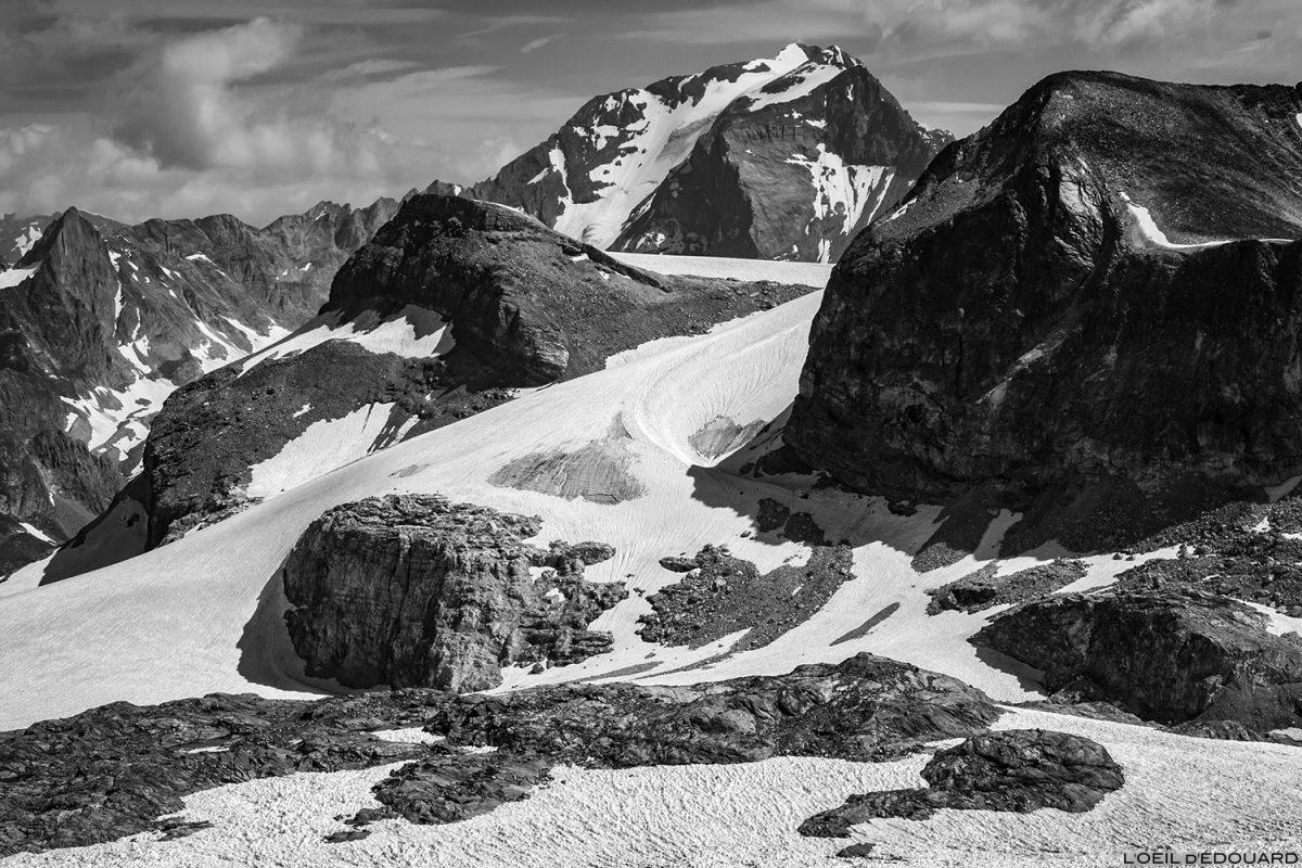 Alpinisme sur les Glaciers de la Vanoise : le Mont Pelve, la Pointe du Dard et le Grande Casse