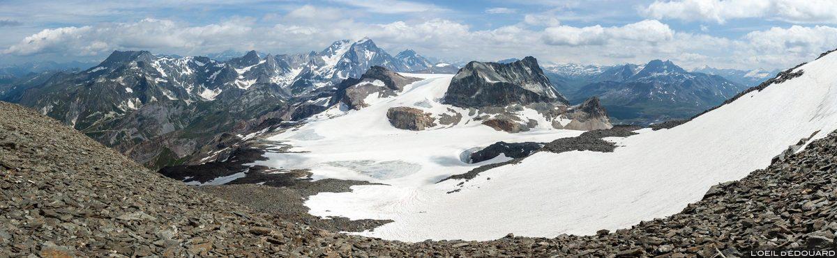 Le Massif de la Vanoise avec les Glaciers de la Vanoise