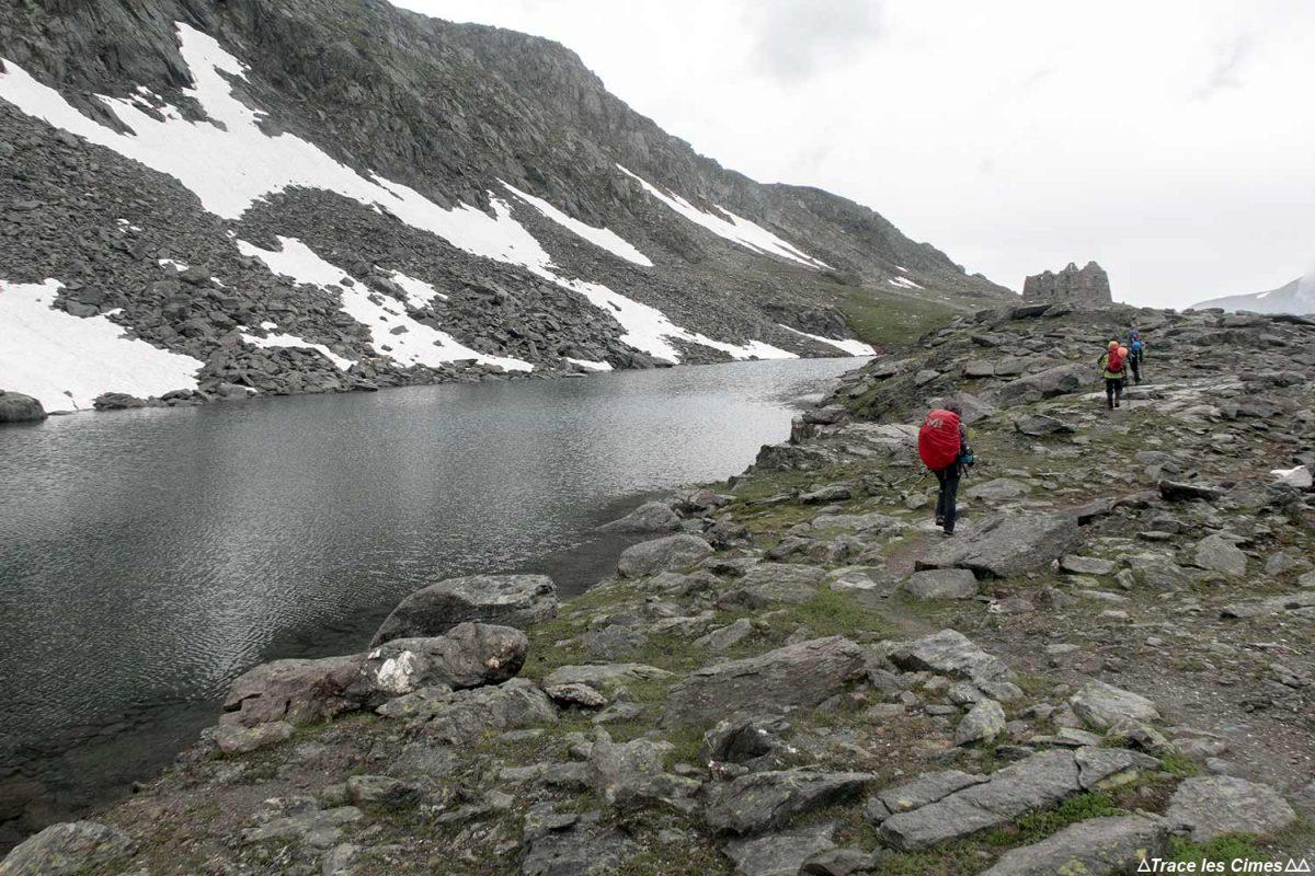 Lac Rnée au Col de la Valette, Massif de la Vanoise