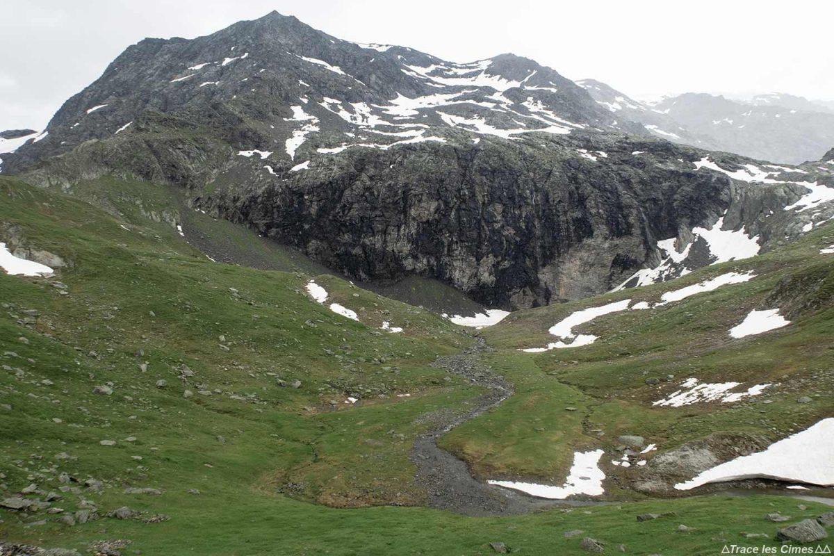 Le Lac de la Valette et le Dôme des Sonnailles, Massif de la Vanoise