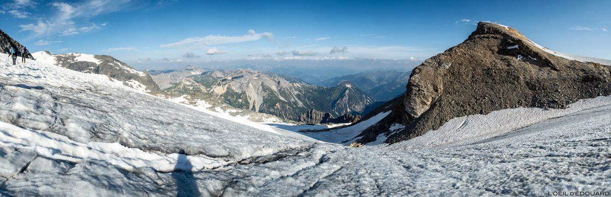 Alpinisme : la Pointe du Dard sur le Glacier de la Vanoise