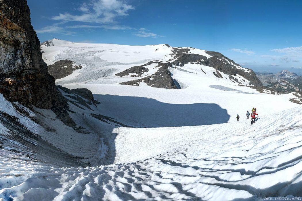Alpinisme sur les Glaciers de la Vanoise