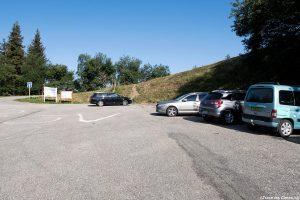 Parking de Val Pelouse - départ de la randonnée pour Les Grands Moulins, Belledonne