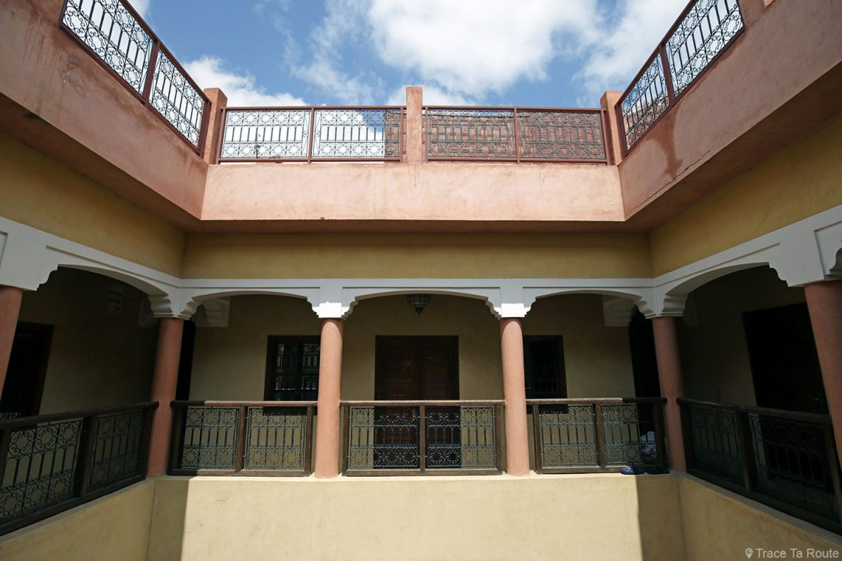 Étages de l'Hôtel Cecil à Marrakech, Maroc