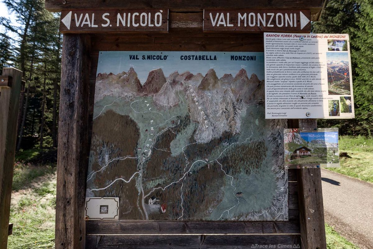 Randonnées dans les Dolomites depuis Malga Crocifisso, Val di Fassa, Italie