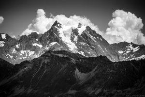 La Grande Casse vue depuis le sommet des Grands Moulins, Belledonne © L'Oeil d'Édouard - Tous droits réservés
