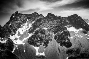 Le Pic du Frêne et le Grand Crozet vus depuis le sommet des Grands Moulins, Belledonne © L'Oeil d'Édouard - Tous droits réservés