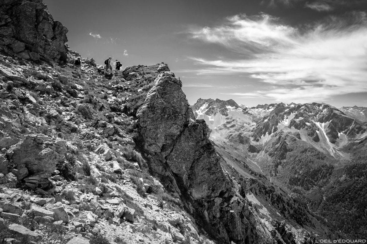 Randonnée aux Grands Moulins par l'arête Nord-Ouest © L'Oeil d'Édouard - Tous droits réservés