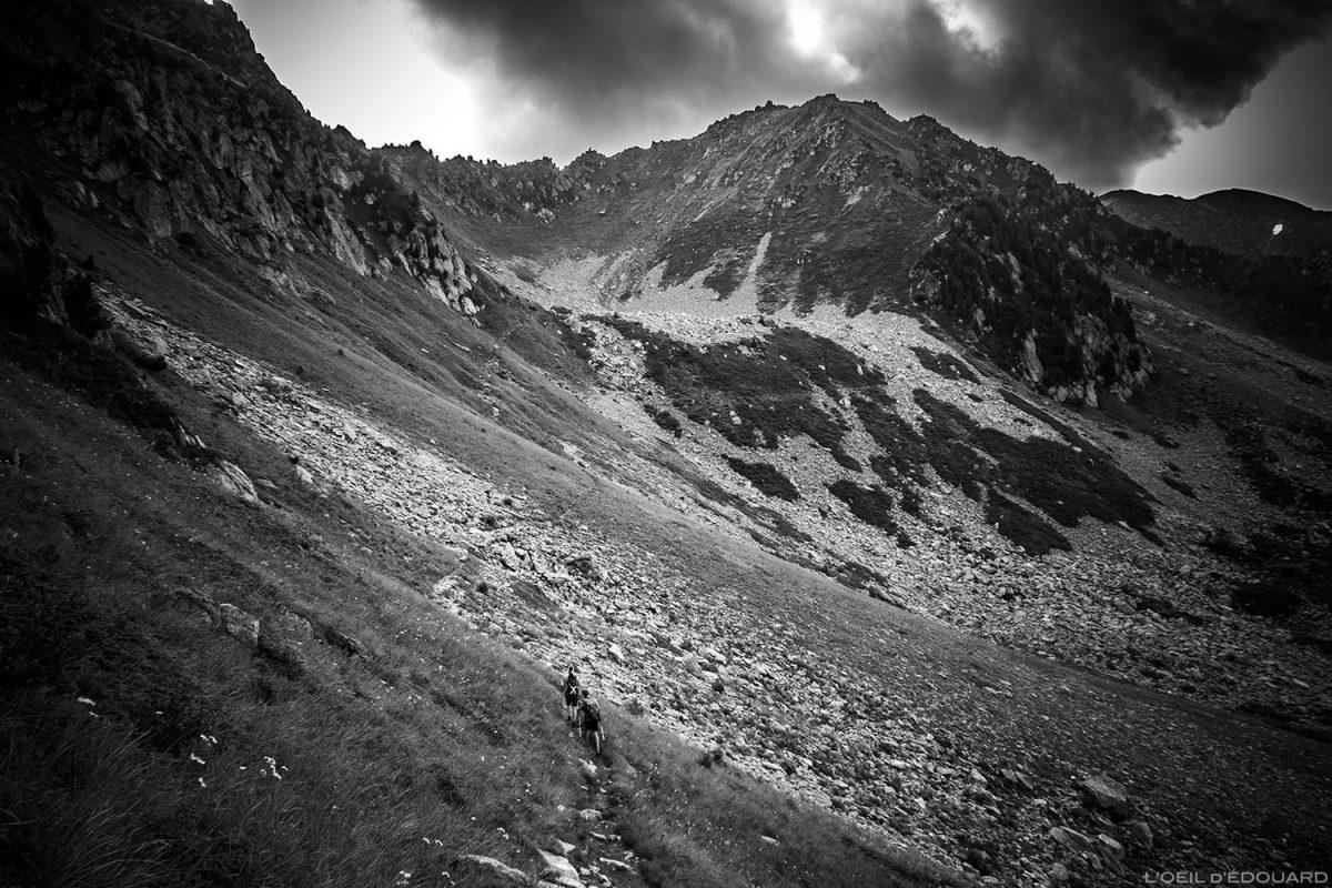 Col de la Frèche et Pointe de la Frèche : Sentier de randonnée aux Grands Moulins, Belledonne © L'Oeil d'Édouard - Tous droits réservés