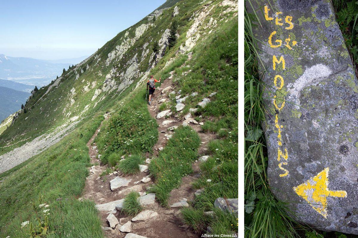 Itinéraire sentier de randonnée aux Grands Moulins, Belledonne