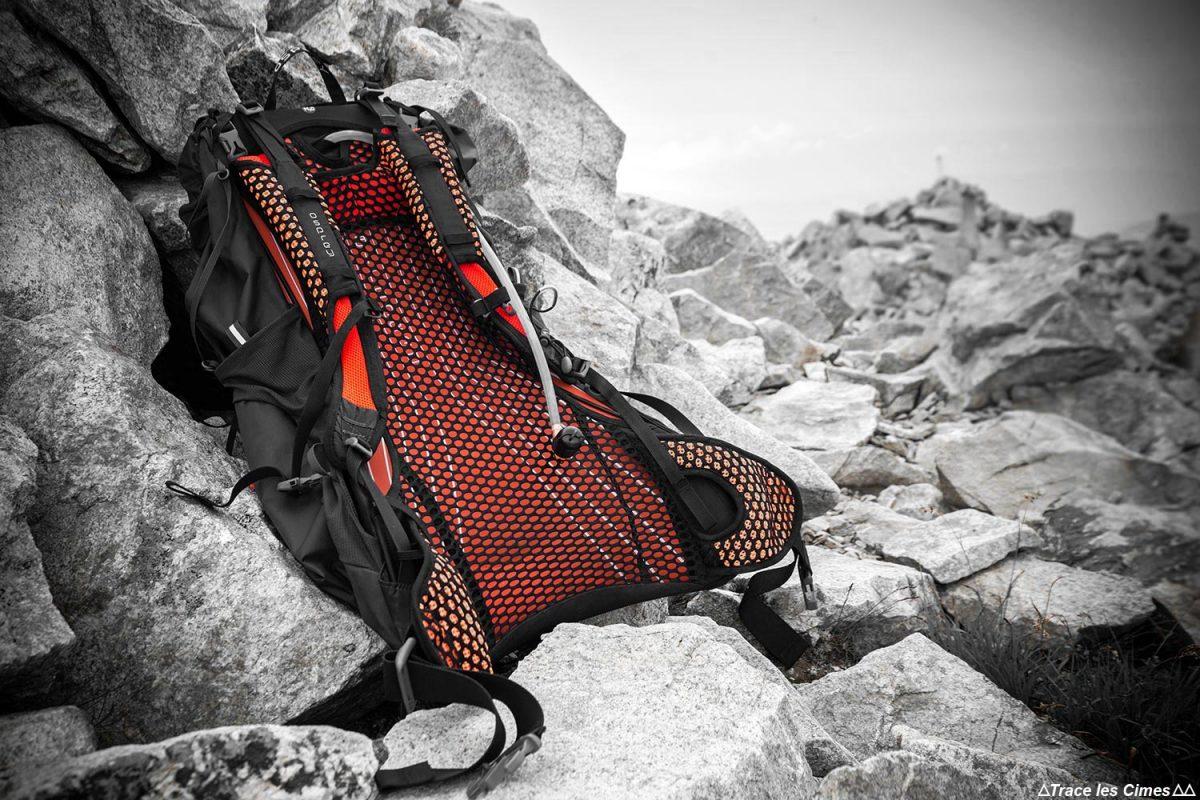 Test review sac à dos randonnée Osprey Exos 38 backpack