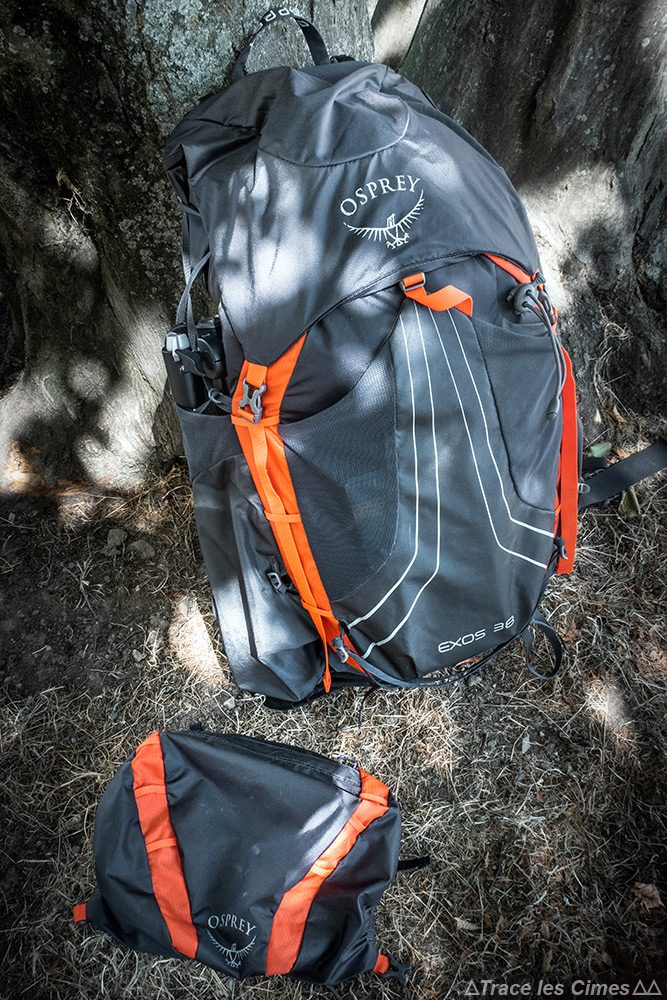 Test review sac à dos randonnée Osprey Exos 38 backpack