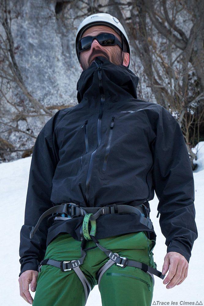 Test Veste Gore-Tex TROLLVEGGEN NORRØNA review : alpinisme