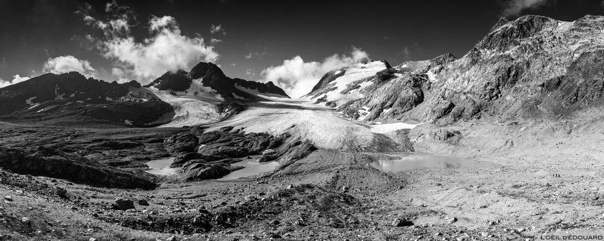 Le Glacier de Saint-Sorlin, la Cime du Grand Sauvage, le Col des Quirlies et le Pic de l'Étendard © L'Oeil d'Édouard - Tous droits réservés