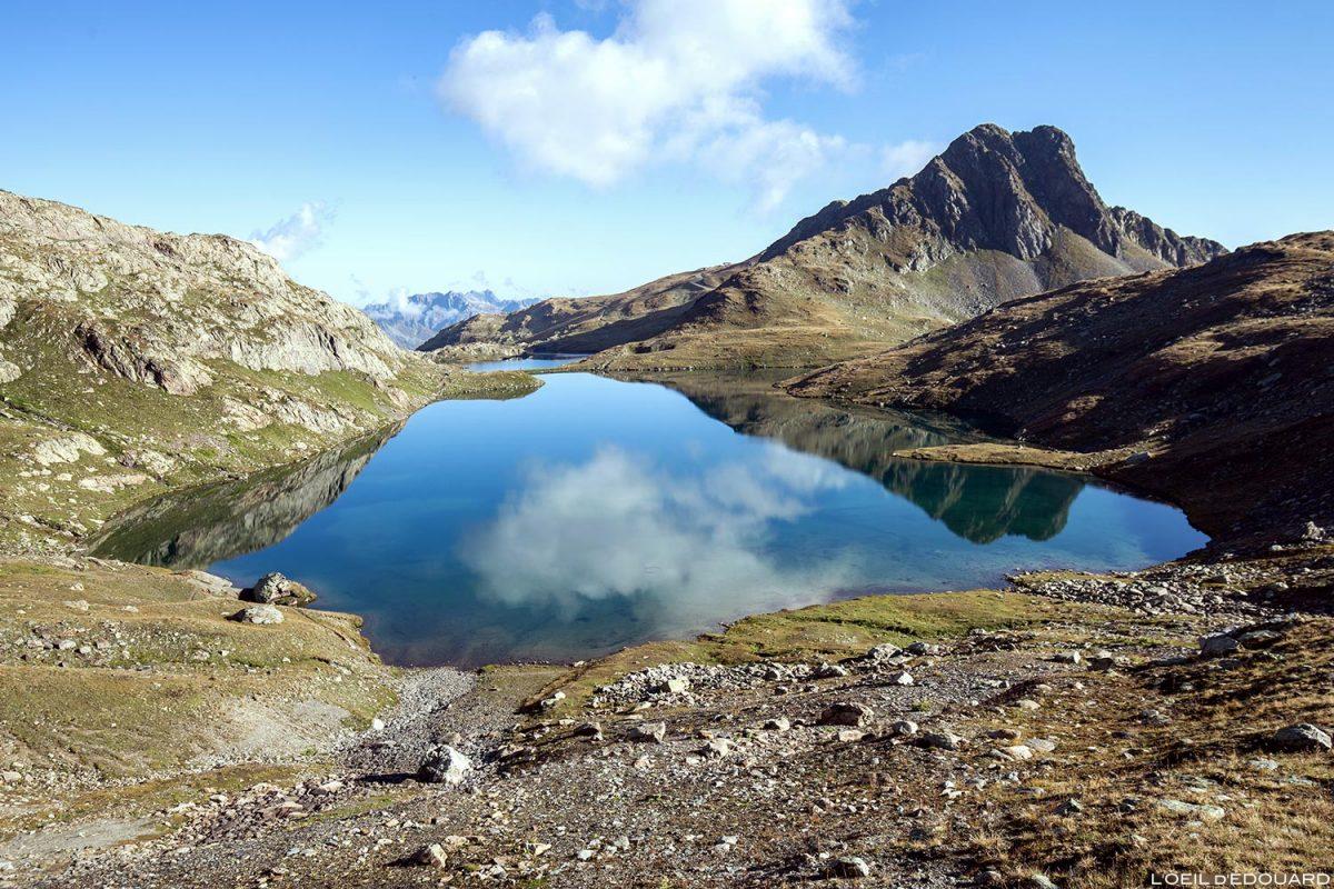 Le Lac Blanc et l'Aiguille Rousse, Maurienne Savoie