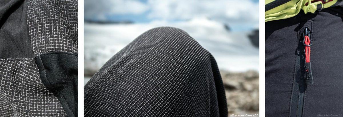 Test Pantalon Alpinisme CimAlp Transalpin : renforts en kevlar + poche