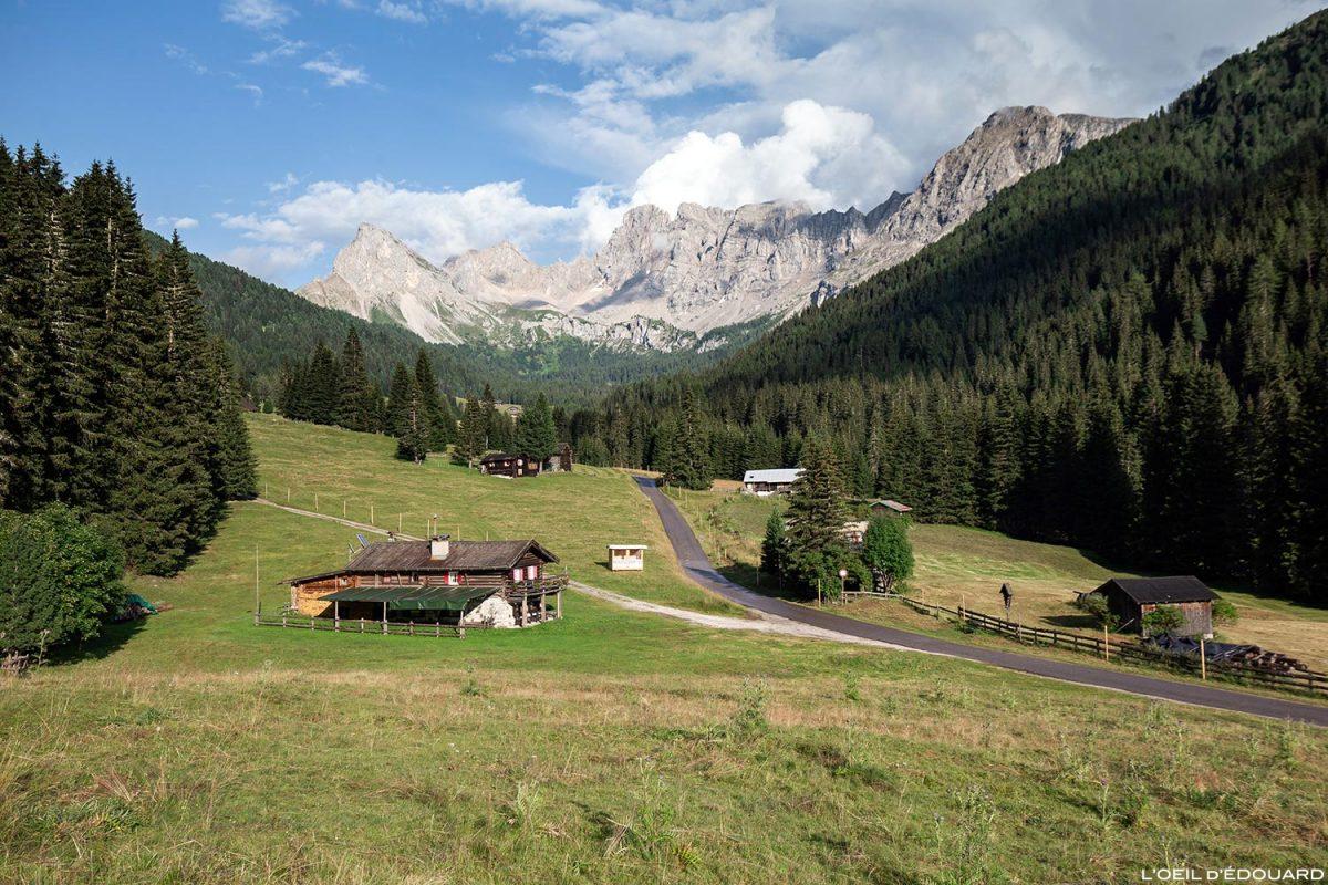 Val San Nicolò - Paysage Montagne Dolomites Italie / Dolomiti Italia Italy © L'Oeil d'Édouard - Tous droits réservés
