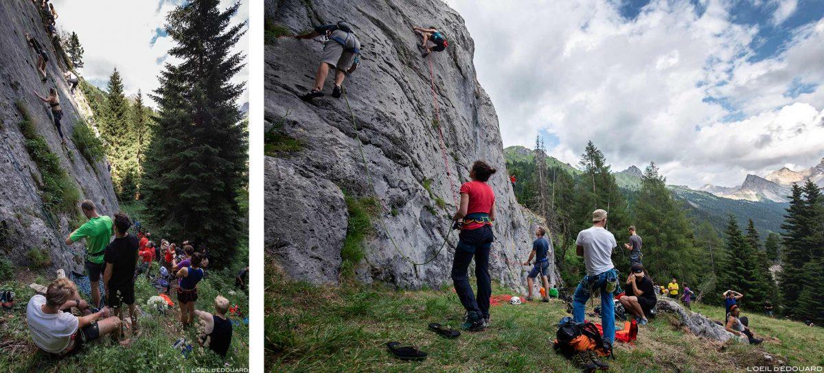 Val San Nicolò - The North Face Mountain Festival 2018 Escalade dans les Dolomites Italie / Climbing Dolomiti Italia Italy