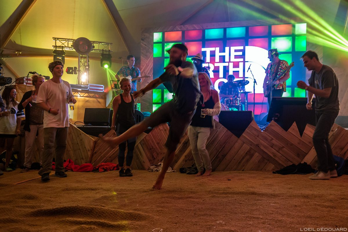 Danse Concert musique Live music dance - The North Face Mountain Festival 2018 à Val San Nicolo, Dolomites