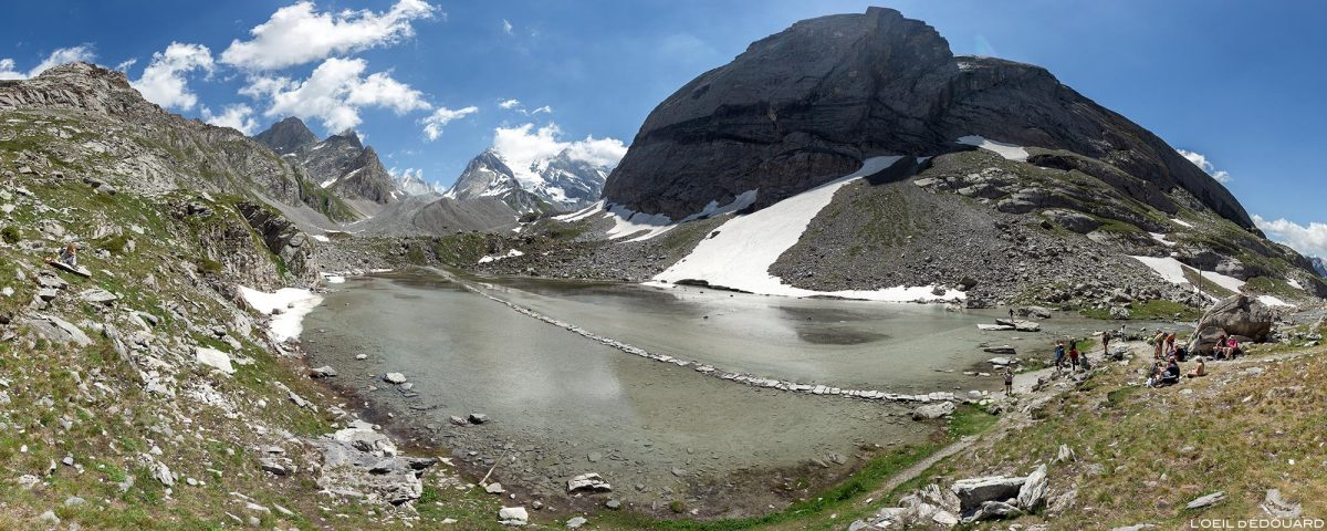 Le Lac des Vaches et l'Aiguille de la Vanoise