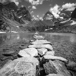 Le Lac des Vaches et la Grande Casse, Massif Parc National de la Vanoise © L'Oeil d'Édouard - Tous droits réservés