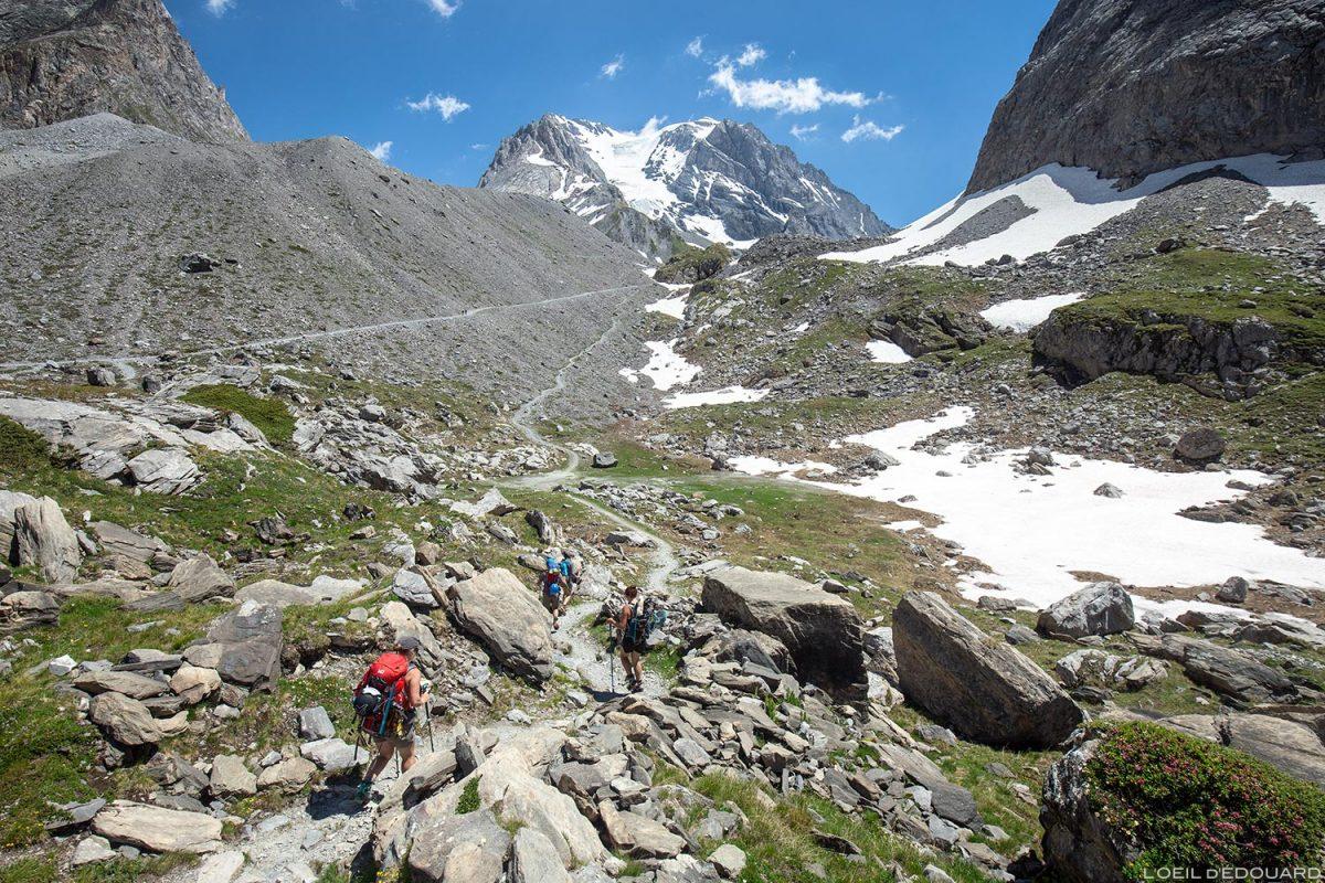 La Grande Casse, vers le Col de la Vanoise