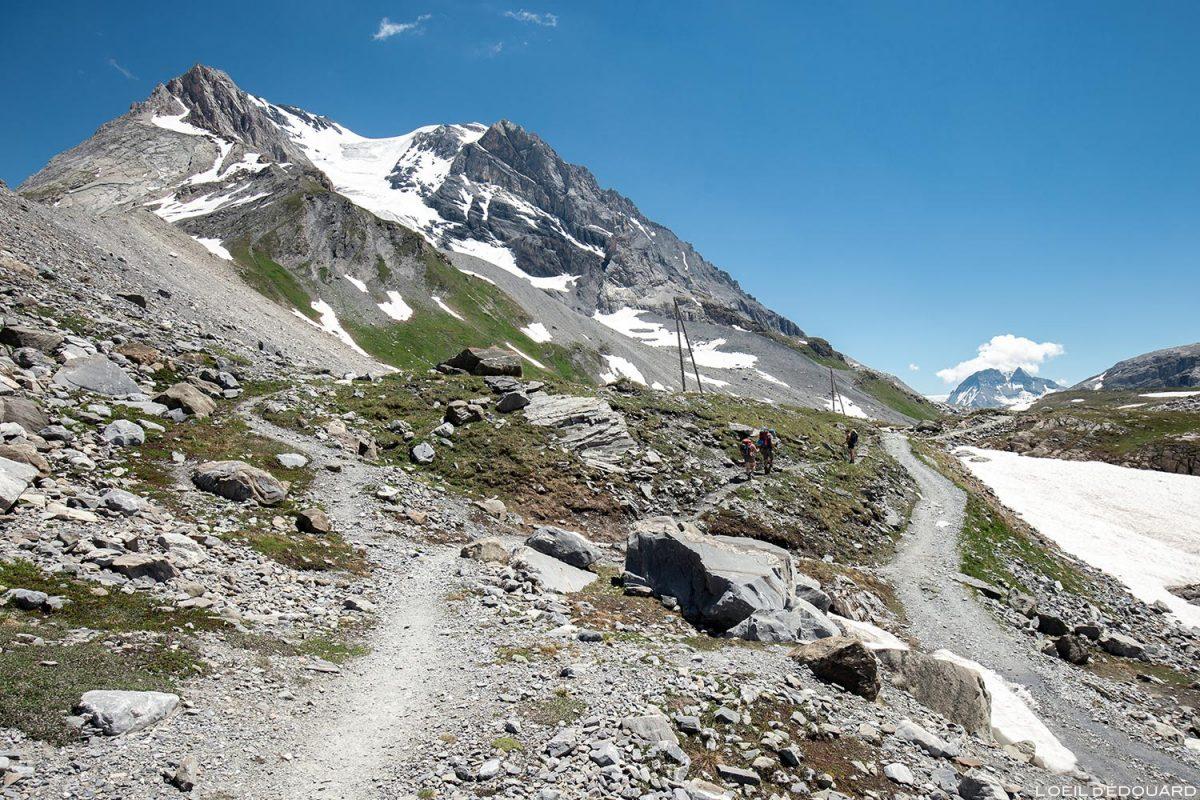 La Grande Casse, sous le Col de la Vanoise