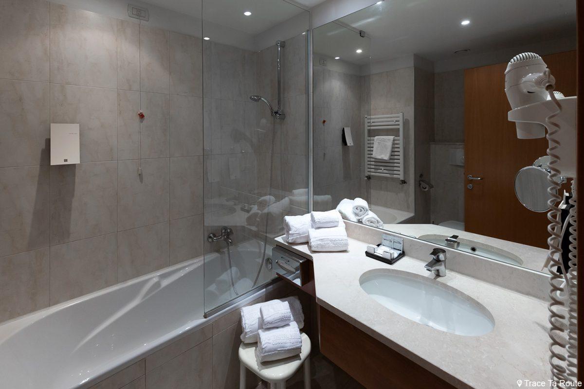 Salle de bain Hôtel Vérone 5 étoiles AirportHotel Verona ***** Italia Italie Italy