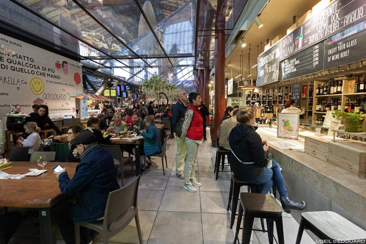 Halles Mercato di San Lorenzo de Florence, Italie / Firenze, Italia Italy