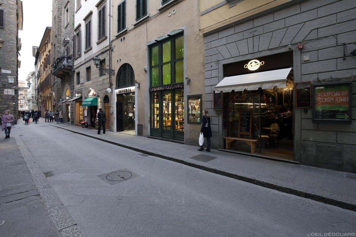 Caffè ChiarOscuro - Vial del Corso, Florence, Italie / Firenze, Italia Italy