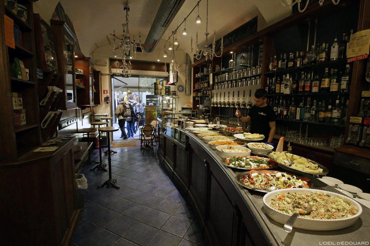 Aperitivo Caffè ChiarOscuro - Florence, Italie / Firenze, Italia Italy
