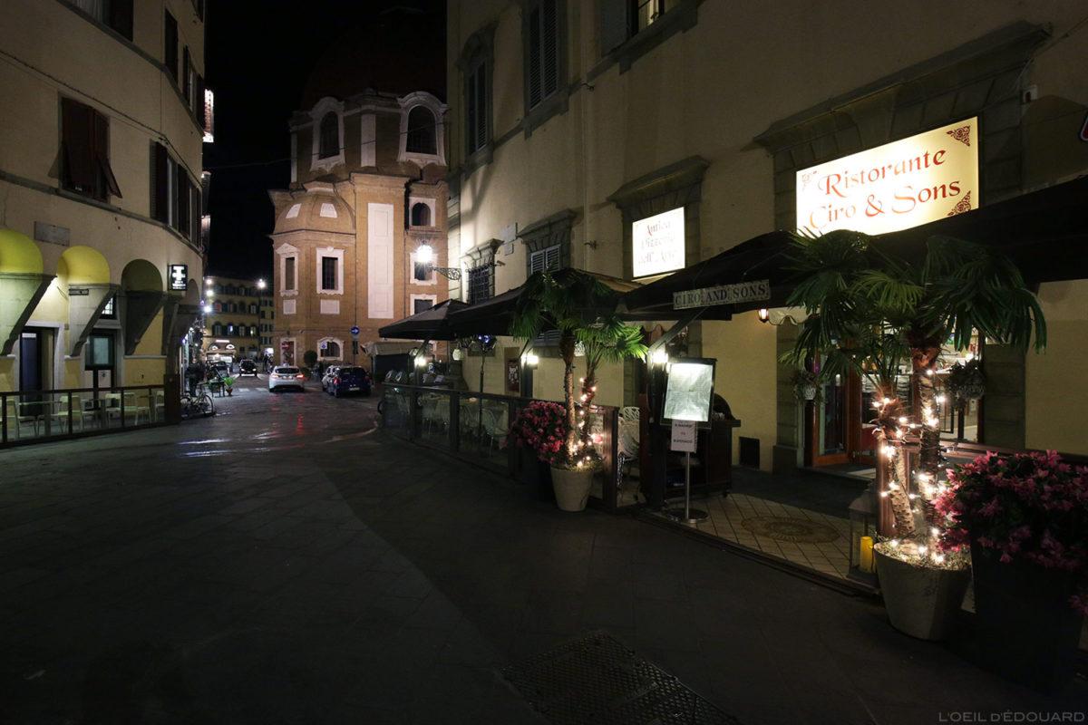 Restaurant à Florence, Italie / Ristorante Ciro & Sons, Via del Giglio, Firenze, Italia Italy