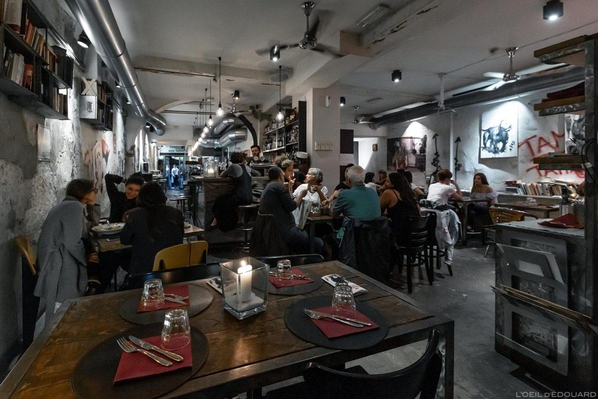 Restaurant Tamerò Pastabar à Florence, Italie / Ristorante Firenze, Italian food