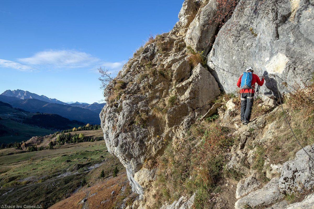 Via ferrata de la Tour du Jallouvre, Haute-Savoie