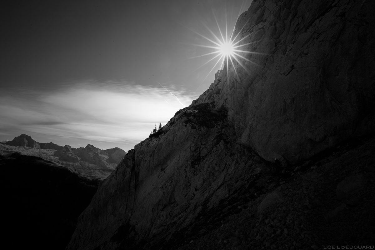 Fin de la Via ferrata de la Tour du Jallouvre : retour dans le vallon du rasoir