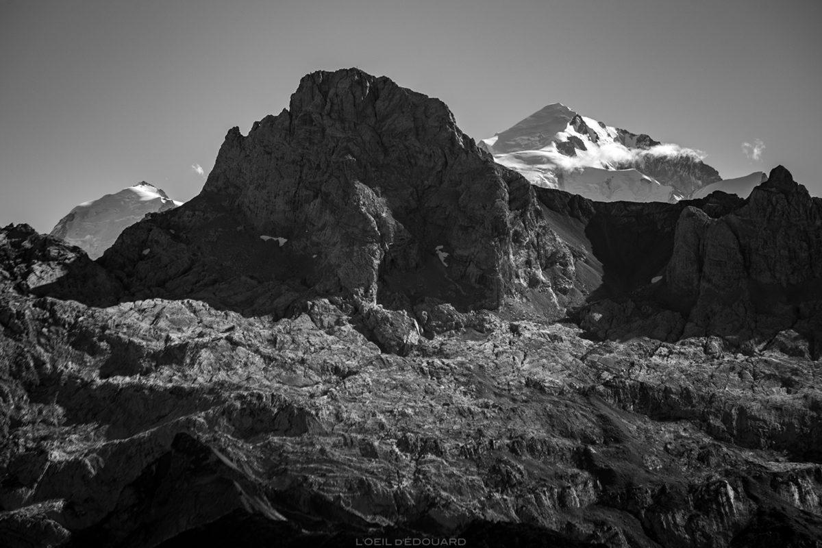 La Pointe Percée et le Mont Blanc, Haute-Savoie © L'Oeil d'Édouard - Tous droits réservés