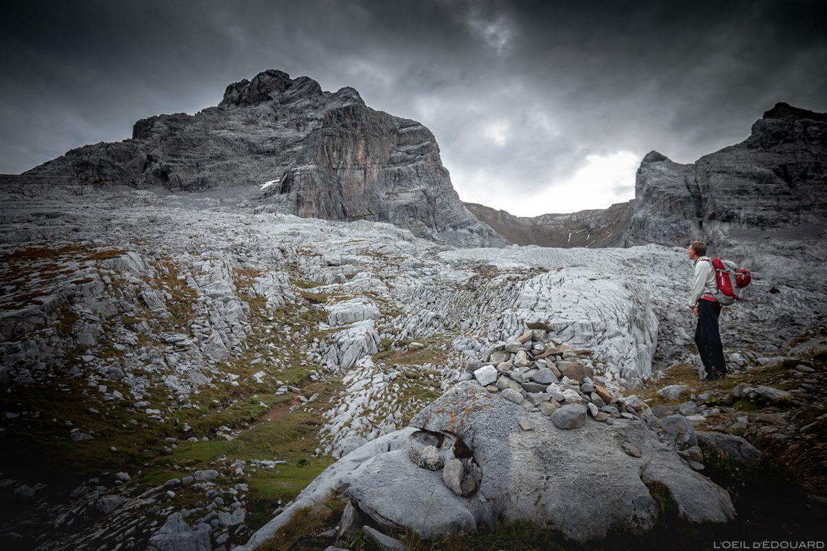 La Pointe Percée depuis le Refuge Gramusset, Aravis / Haute-Savoie © L'Oeil d'Édouard - Tous droits réservés