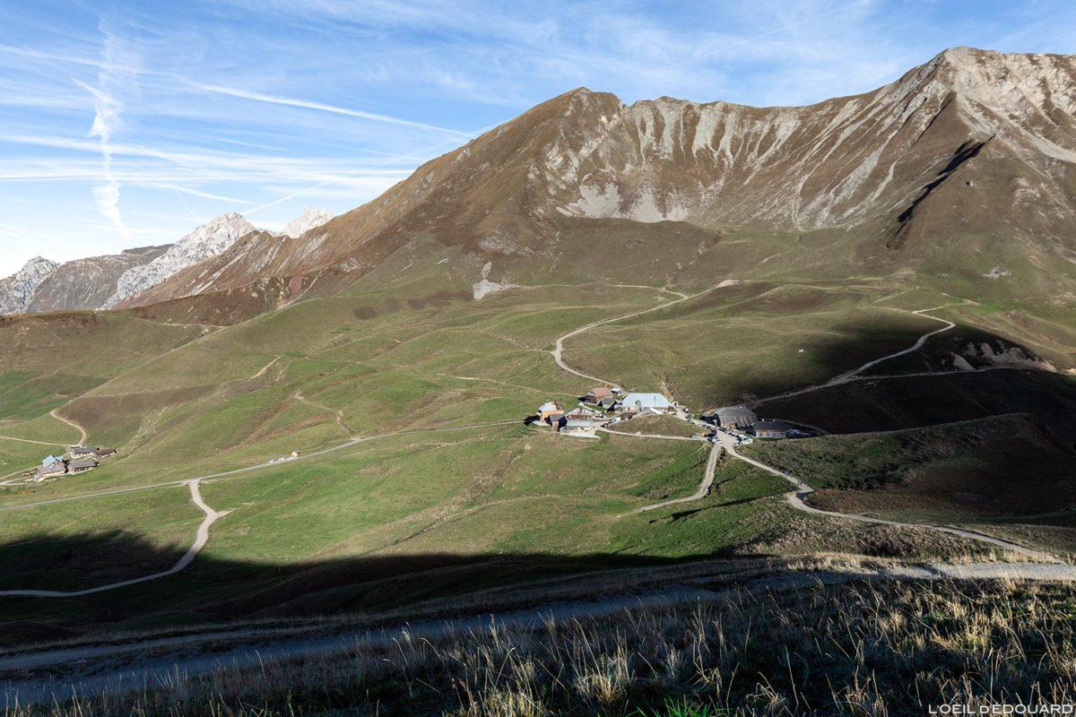 Le Col des Annes dans les Aravis / Haute-Savoie, Alpes