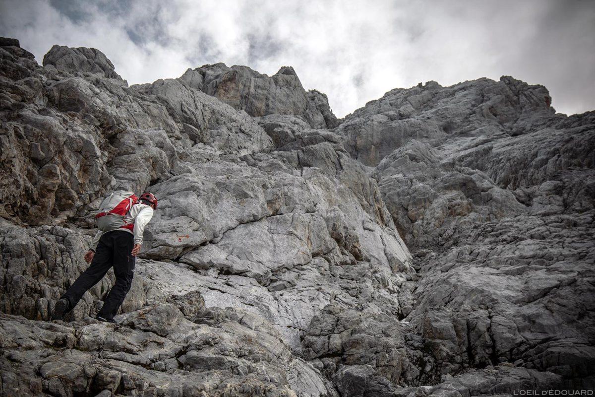 Itinéraire de randonnée de la Pointe Percée par la voie normale, Aravis / Haute-Savoie