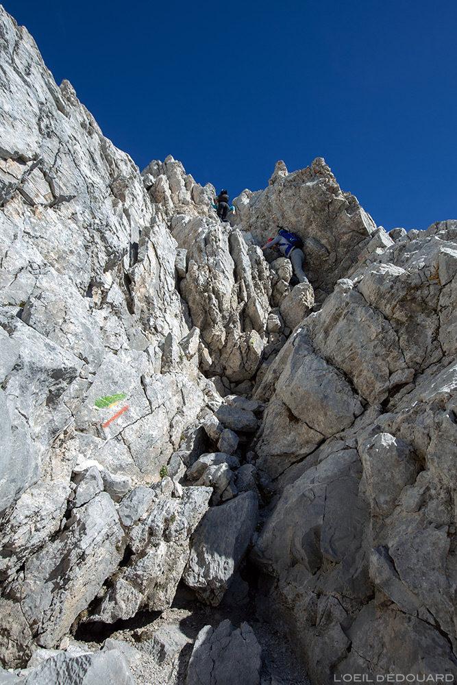 Les Cheminées de Sallanches à La Pointe Percée, Aravis / Haute-Savoie