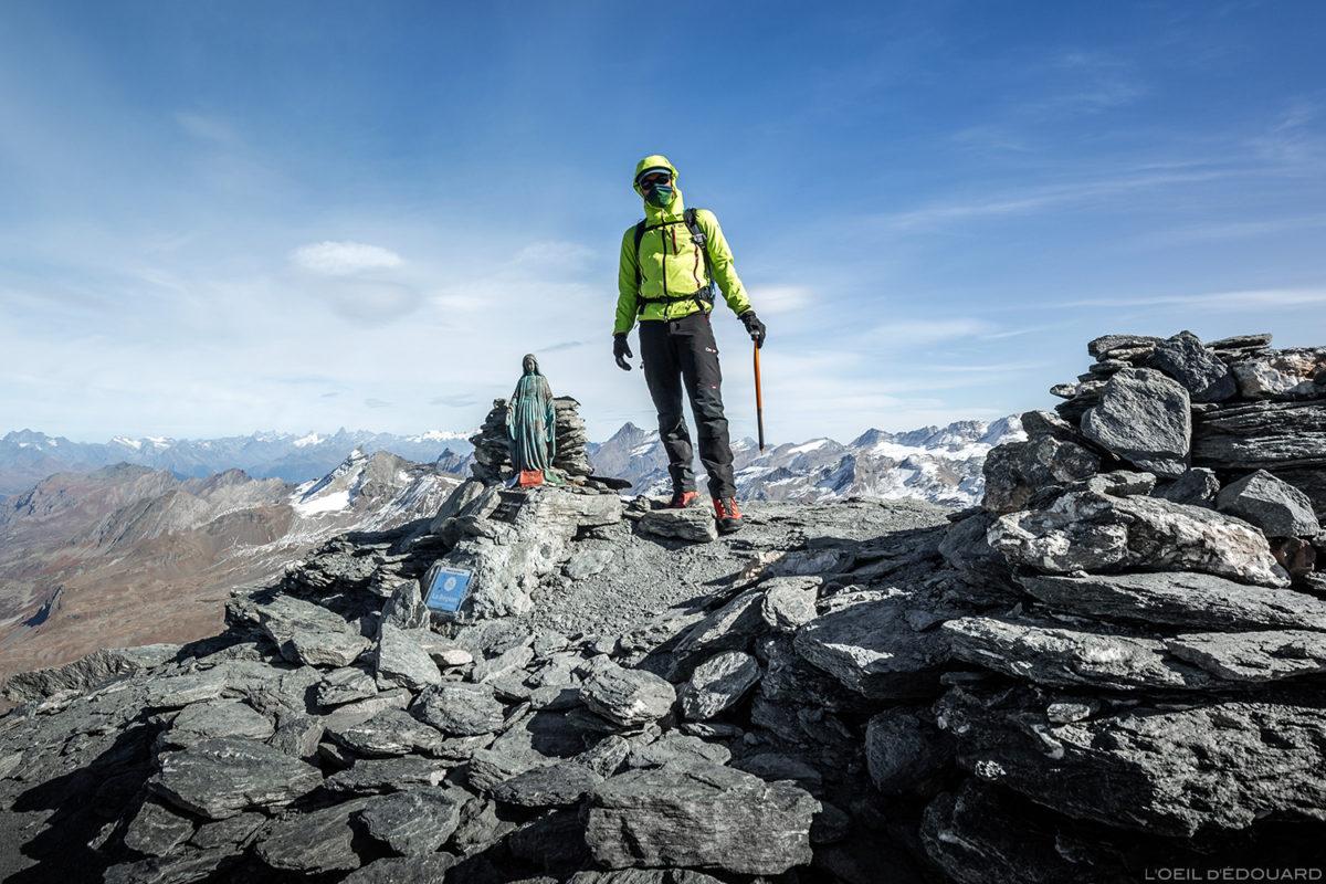 Le sommet de l'Aiguille de la Grande Sassière (3747 m) - Alpes Grées, Montagne Savoie