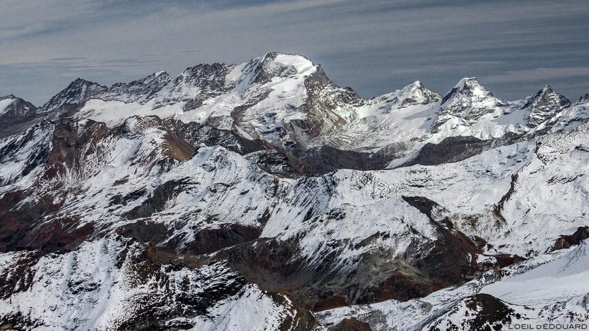 Le Grand Paradis, depuis le sommet de l'Aiguille de la Grande Sassière - Montagnes Italie © L'Oeil d'Édouard - Tous droits réservés