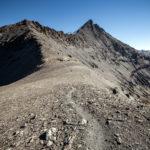 Crête sur le sentier de randonnée à l'Aiguille de la Grande Sassière, Alpes Grées Savoie © L'Oeil d'Édouard - Tous droits réservés