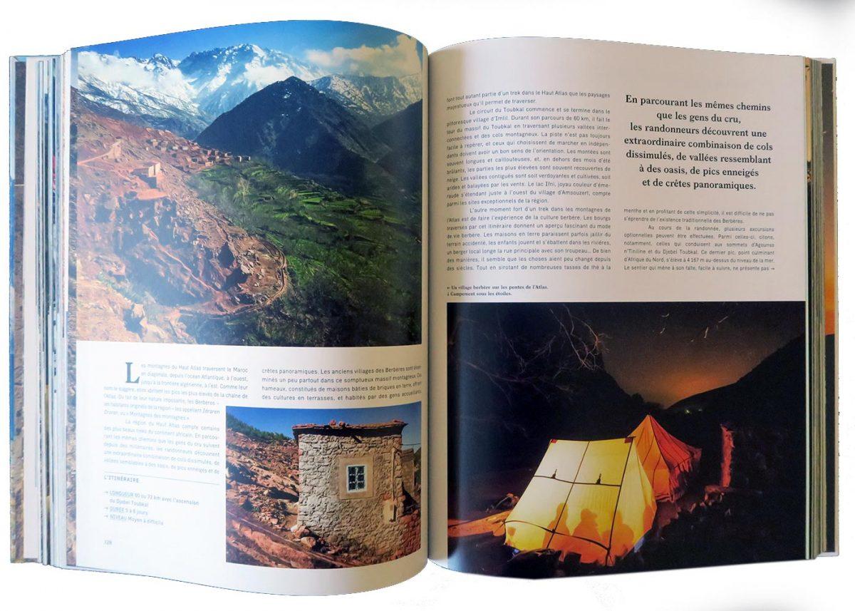 Beau Livre - Treks de Légende Autour du monde (Toubkal) - Éditions Guides Bleus Gestalten