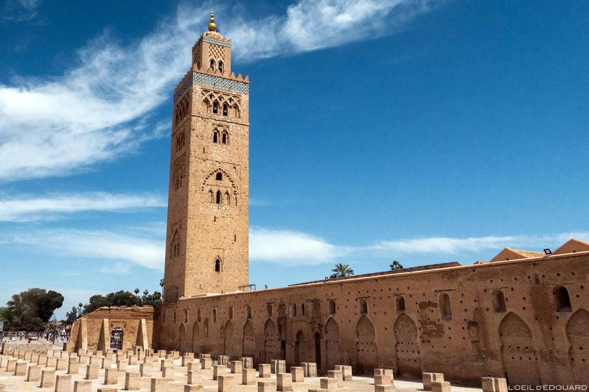 La Mosquée de la Koutoubia à Marrakech, Maroc / Marrakesh Morocco