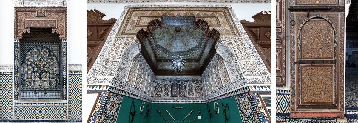 Visite du Musée de Marrakech, Maroc / Visit Museum of Marrakesh Morocco