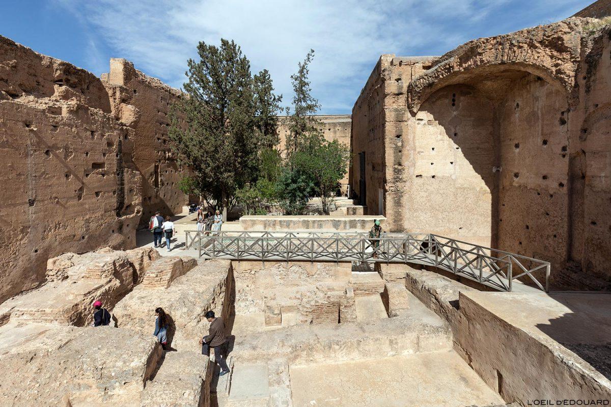 Vestiges du Palais Badi à Marrakech, Maroc / Marrakesh Morocco